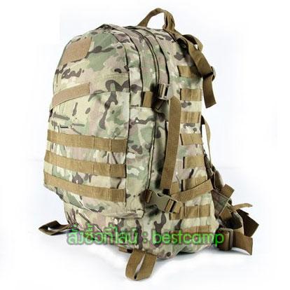 เป้ทหาร 3D,กระเป๋าเป้เดินทางท่องเที่ยว,ลายมัลติแคม