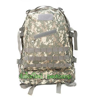 เป้ทหาร 3D,กระเป๋าเป้เดินทางท่องเที่ยว,ลายพราง ACU