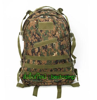 เป้ทหาร 3D,กระเป๋าเป้เดินทางท่องเที่ยว,ลายพรางมารีน