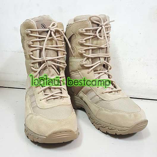 รองเท้า ALTAMA tactical desert , Altama Footwear Vengeance SR 8 Side Zip Boots
