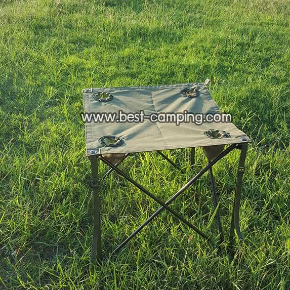 โต๊ะสนามสีเขียว,โต๊ะแคมป์ปิ้ง,โต๊ะเดินป่า,โต๊ะ Outdoor,โต๊ะรวบขา+ซอง