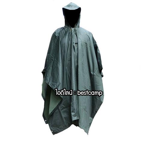 เสื้อกันฝนสีเขียว,เสื้อกันฝนค้างคาว,เสื้อกันฝนปันโจ,สีเขียว