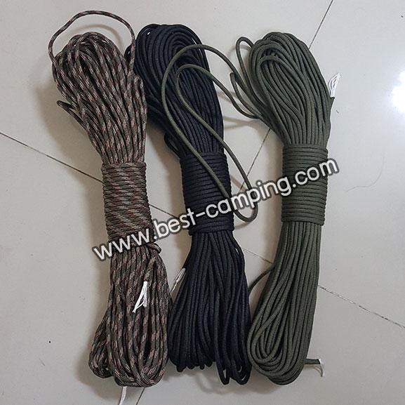 เชือกอเนกประสงค์ ,Military regulations umbrellaThe new seven core umbrella rope produced by 550 sta