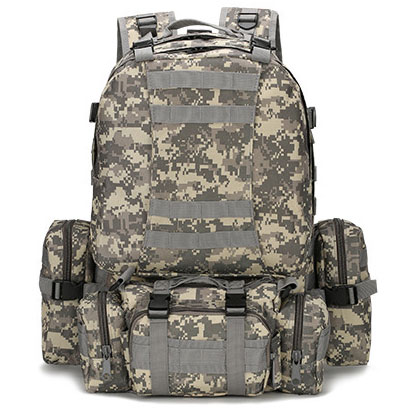 เป้ทหารแม่ลูก Multi function 4 in 1 (50L) ลายดิจิตอล ACU