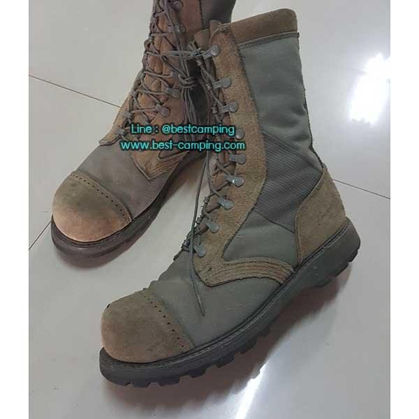 รองเท้าจังเกิ้ลสีเขียว,รองเท้าทหาร,BOOTS, หัว jump corcoran jungle green 11.5 (มือสองสภาพดี)