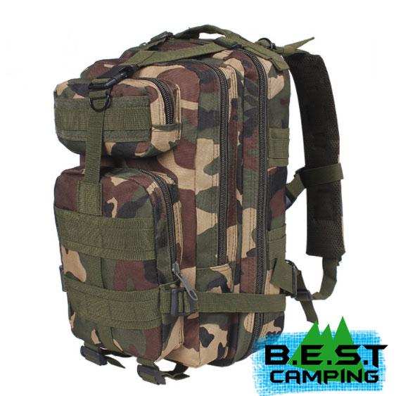เป้ทหาร 3P,กระเป๋าเป้เดินทางท่องเที่ยว,ลายพราง,ลาย Woodland