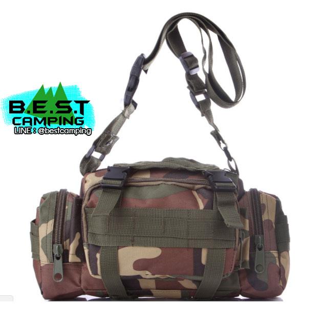 กระเป๋าคาดเอวยุทธวิธี Tactical Waist Bag