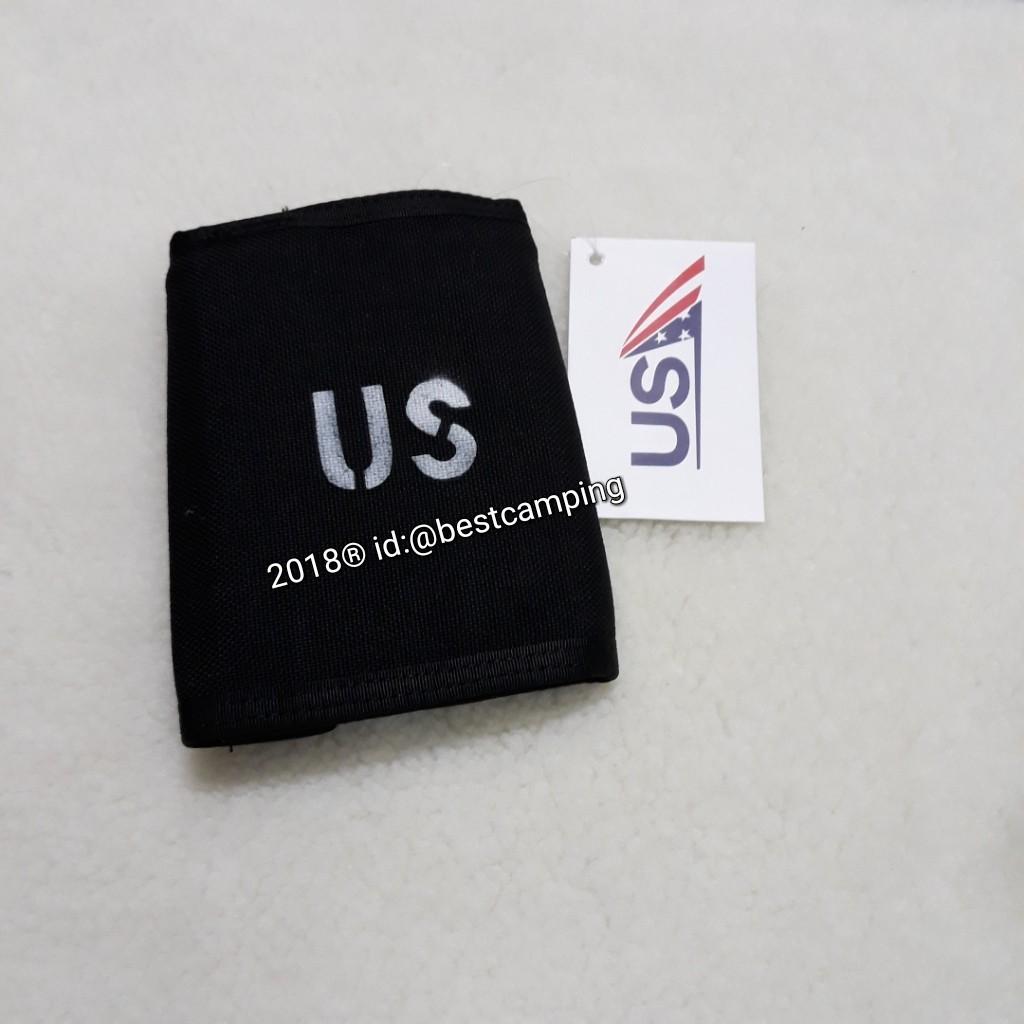 กระเป๋าสตางค์ลายทหาร,สีดำ