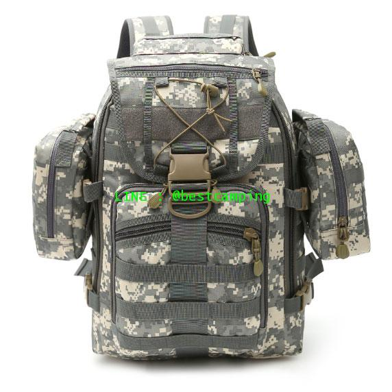 กระเป๋าเป้ทหาร MAX GEAR 35 L ลายเอซียูACU
