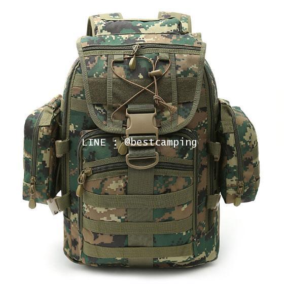 กระเป๋าเป้ทหาร MAX GEAR 35 L ลายดิจิตอลมารีน