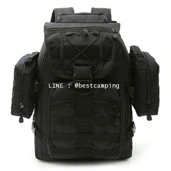กระเป๋าเป้ทหาร MAX GEAR 35 L สีดำ