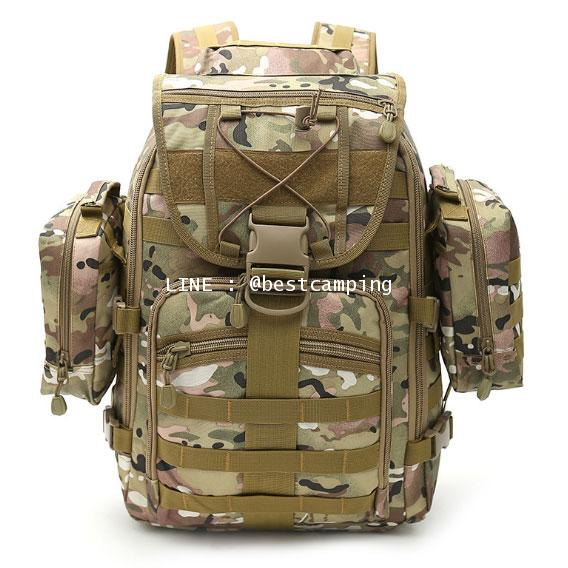 กระเป๋าเป้ทหาร MAX GEAR 35 L ลายพรางมัลติแคม