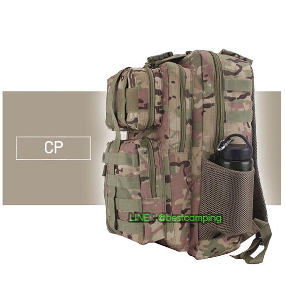 เป้ทหาร 3PNEW,40L,กระเป๋าเป้เดินทางท่องเที่ยว,ลายพราง,ลายพราง CP