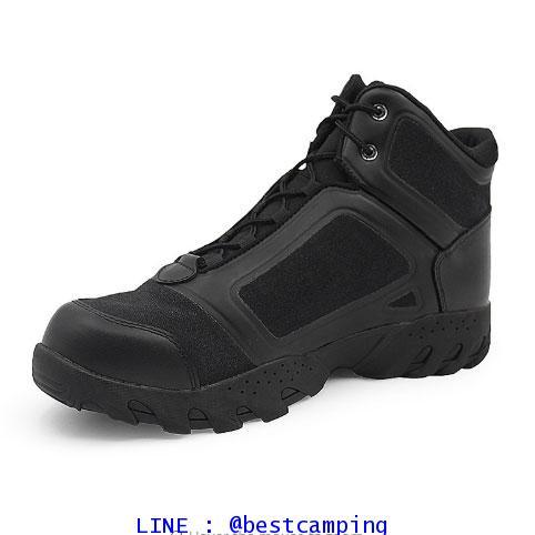 รองเท้าเดินป่า Tactical SABADO ฺBLACK SHORT 6quot;,รองเท้าข้อสั้นสีดำ 6 นิ้ว