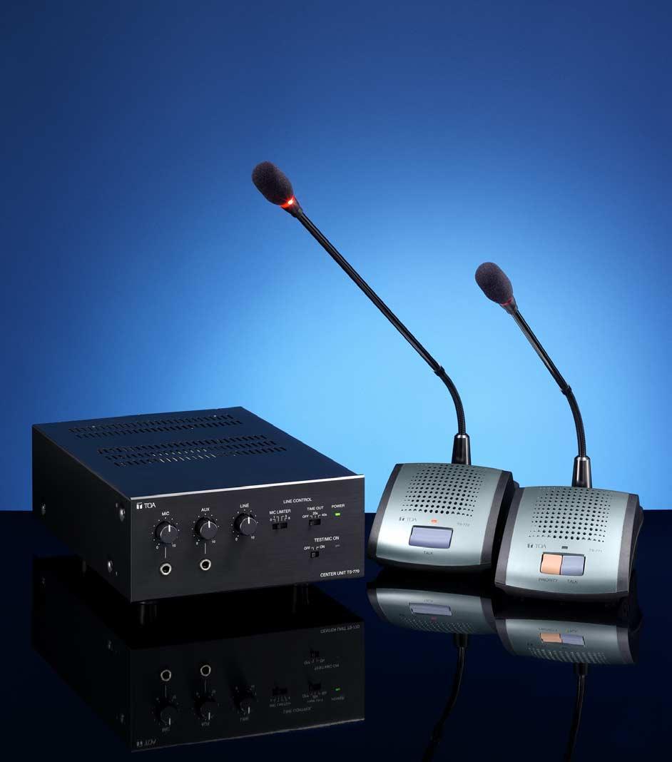 ชุดไมโครโฟนห้องประชุม TOA TS770