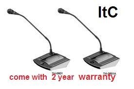 ชุดไมโครโฟนห้องประชุมItC รุ่น TH-0801 .. 2 year warranty