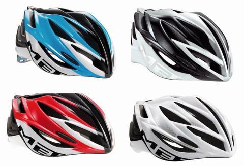 หมวก MET FORTE สีขาว/แดง ไซด์ L