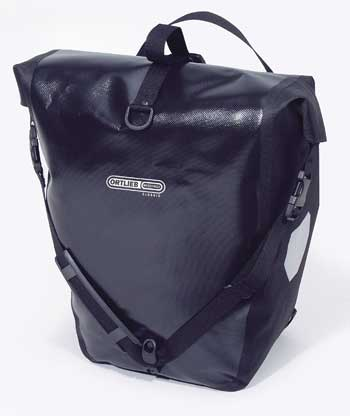 ORTLIEB Back-Roller Classic (PAIR) กระเป๋าเกี่ยวข้างตะแกรงหลัง สีดำ