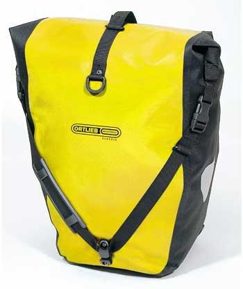 ORTLIEB Back-Roller Classic (PAIR) กระเป๋าเกี่ยวข้างตะแกรงหลัง สีเหลือง