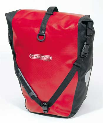 ORTLIEB Back-Roller Classic (PAIR) กระเป๋าเกี่ยวข้างตะแกรงหลัง สีแดง