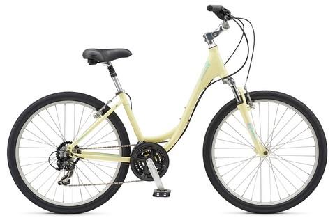 Schwinn Sierra 1 Comfort Bike สีครีม