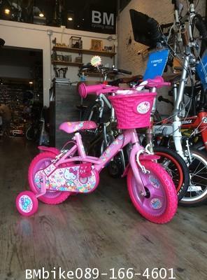 """จักรยานเด็ก KITTY ลิขสิทธิ์แท้  ขนาดล้อ 12"""""""