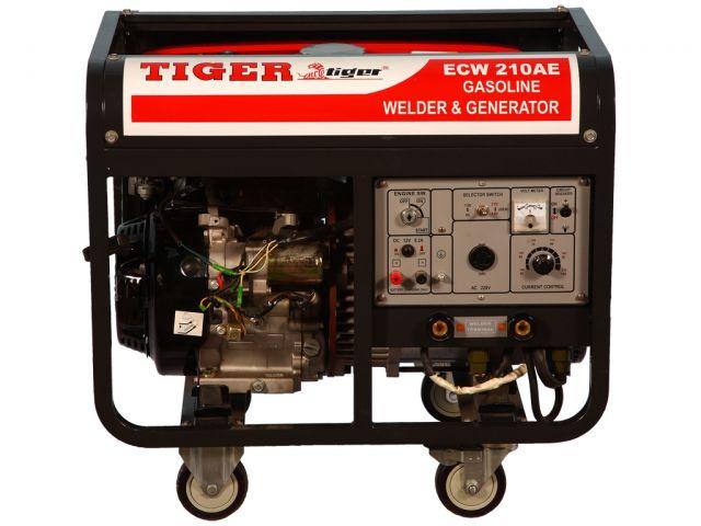 เครื่องปั่นไฟพร้อมเชื่อมในตัว TIGER รุ่น ECW-210AE