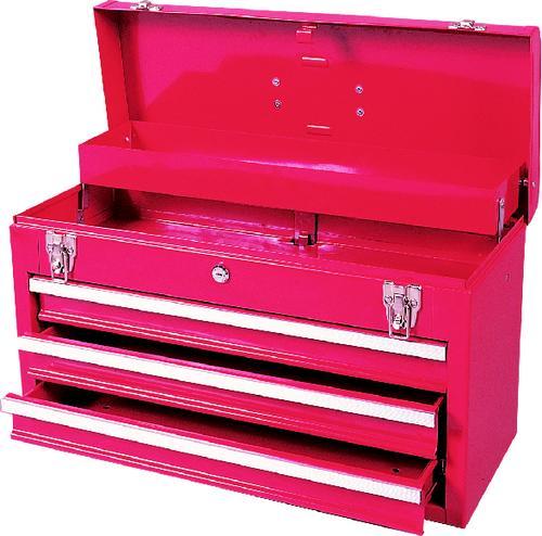ตู้เครื่องมือช่าง สีแดง 3ลิ้นชัก
