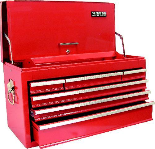 ตู้เครื่องมือช่าง สีแดง 6ลิ้่นชัก
