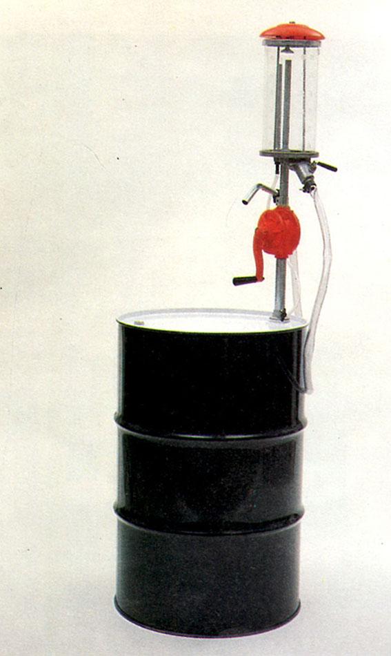 ปั๊มหลอดแก้วมือหมุน 5ลิตร