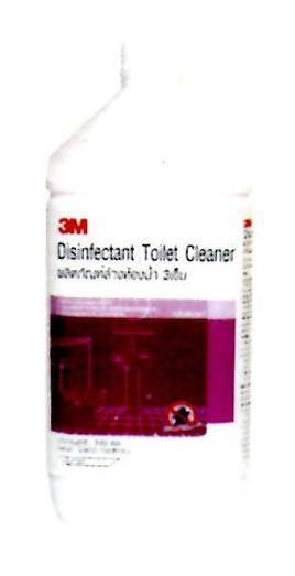 ผลิตภัณฑ์ล้างห้องน้ำฆ่าเชื้อโรค 3M กลิ่นพฤกษา