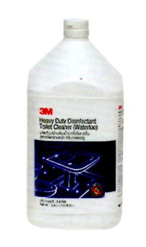 ผลิตภัณฑ์ล้างห้องน้ำฆ่าเชื้อโรค 3M สูตรขจัดคราบหนัง กลิ่นวอเตอร์ลู