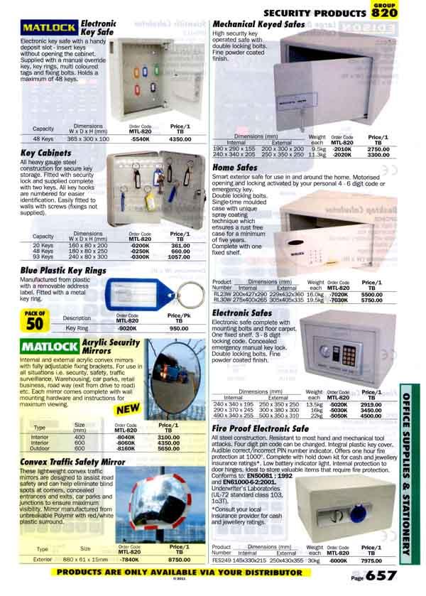 เครื่องมือช่างหมวด SECURITY PRODUCTS หน้า 657