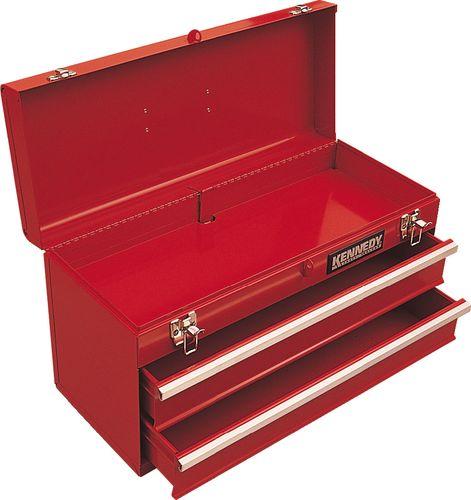 ตู้เครื่องมือช่าง 2ลิ้นชัก สีแดง 0100K