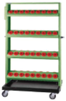 ชั้นเหล็กเก็บหัวจับ CNC TKENR-1228M