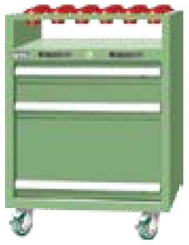 ตู้เหล็กเก็บหัวจับ CNC TKEA-7031-22MN