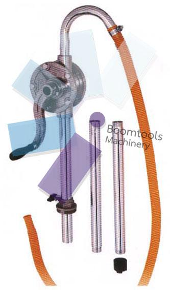 ปั๊มดูดน้ำมันและเคมีมือหมุน อลูมิเนียม Model JERP-91AH