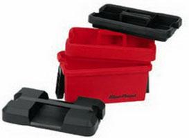 กล่องใส่เครื่องมือช่างพลาสติก 16นิ้ว สีแดง Blue-Point