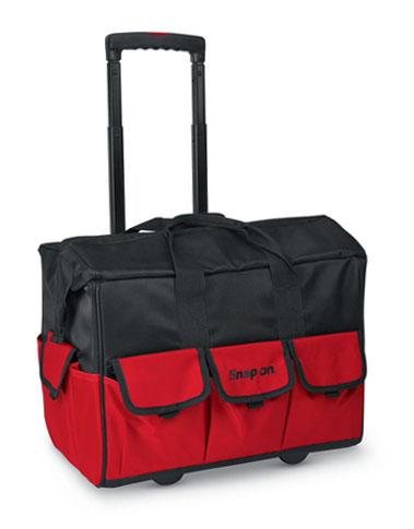 กระเป๋าเครื่องมือช่างดำแดงแบบล้อลาก Snap-on 007482