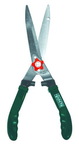 กรรไกรตัดหญ้าด้ามไฟเบอร์สีเขียวใบมีดตรง META 002692