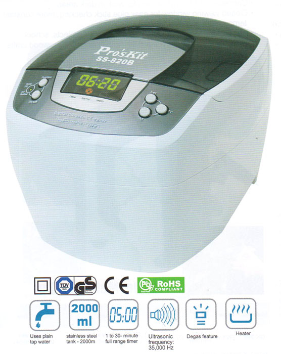 Digital Ultrasonic Cleaner 008150