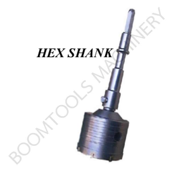 โฮลซอเจาะคอนกรีตพร้อมก้าน HEX SHANK 009068