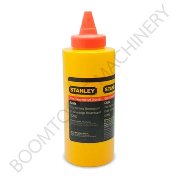 ผงชอล์กเติมปักเต้าสีส้มขนาด 8ออนซ์ STANLEY 009110