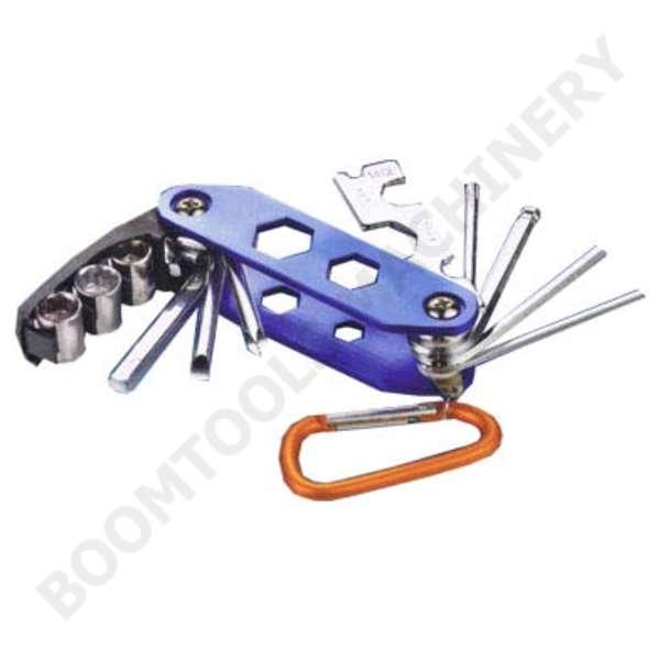 ชุดเครื่องมือซ่อมจักรยานแบบพับ 13ตัว 010735