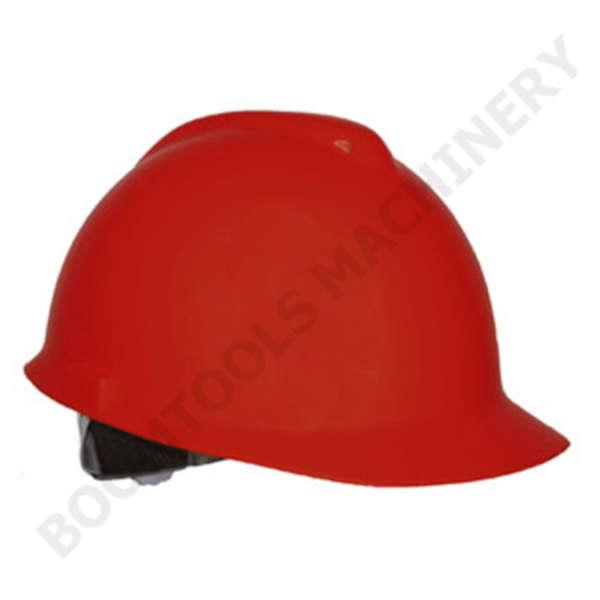 หมวกนิรภัยสีแดง 004471