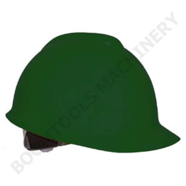 หมวกนิรภัยสีเขียว 004472