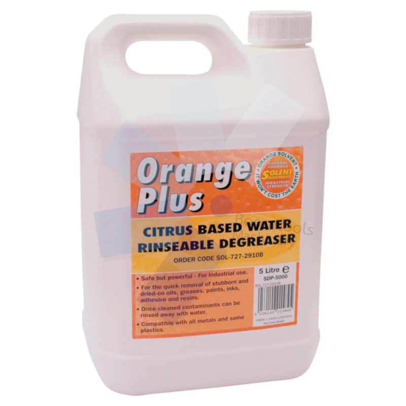 Solent Lubricants.Orange Plus Degreaser - 5 Litre