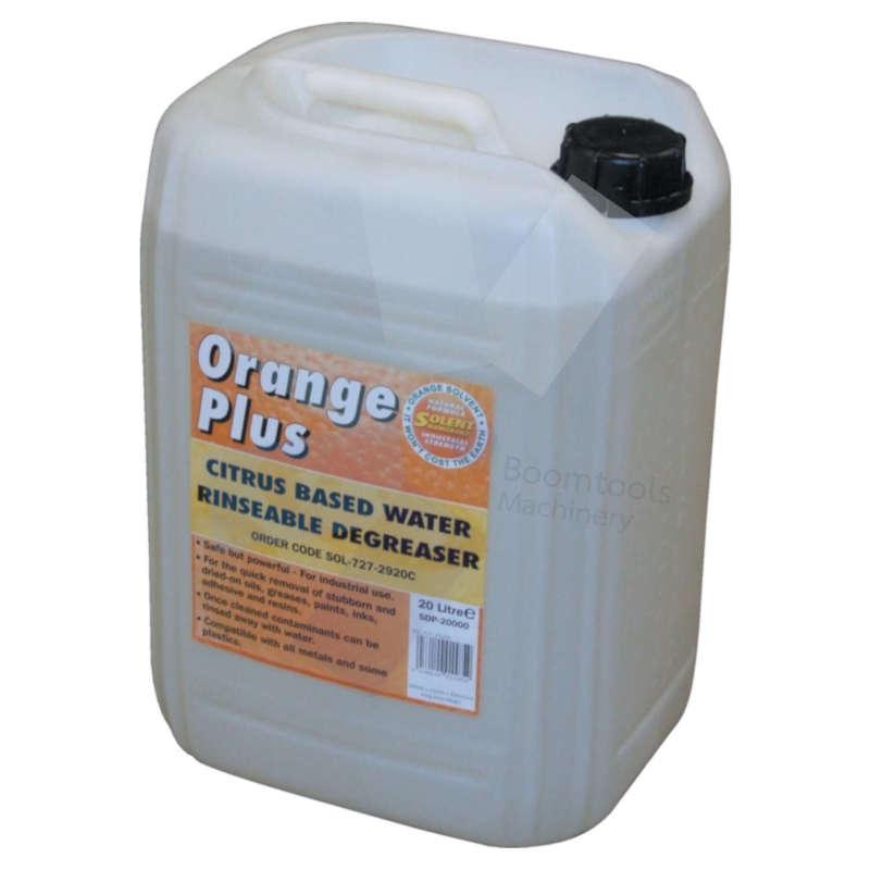 Solent Lubricants.Orange Plus Degreaser - 20 Litre