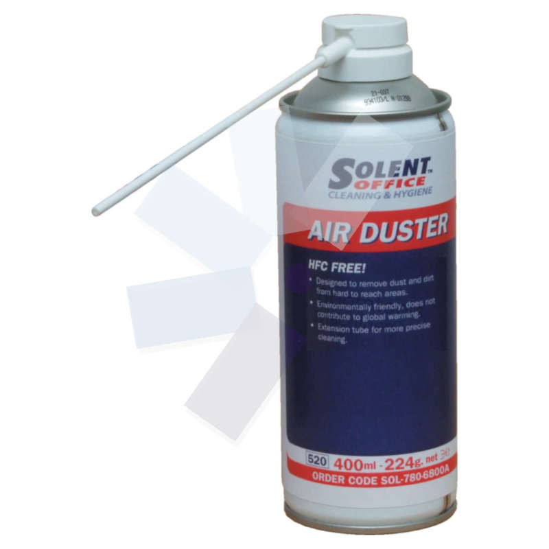 Solent Office.Air Duster HFC Free 400ml