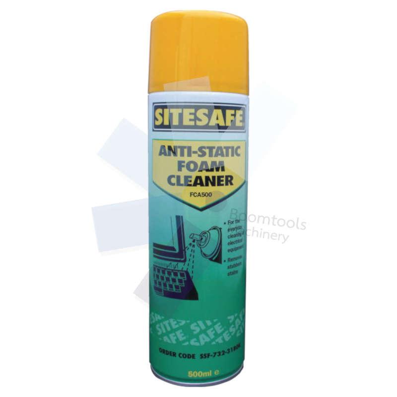 Sitesafe.FCA500 Anti-Static Foam Aerosol Cleaner - 500ml